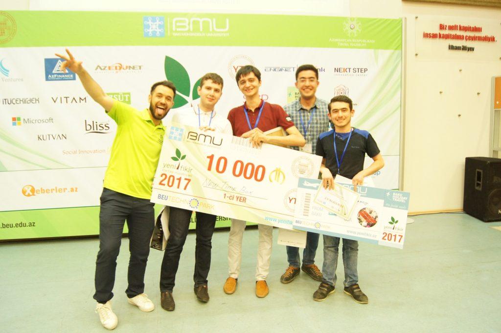 Sil. Startup – Winner: AZN10,000 (YeniFikir 2017)