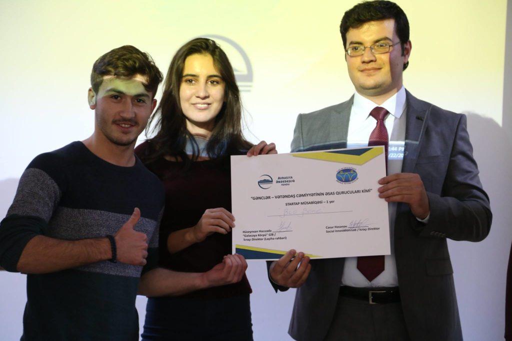 Sil. Startup – Winner: First Prize (SE Challenge, Ganja)