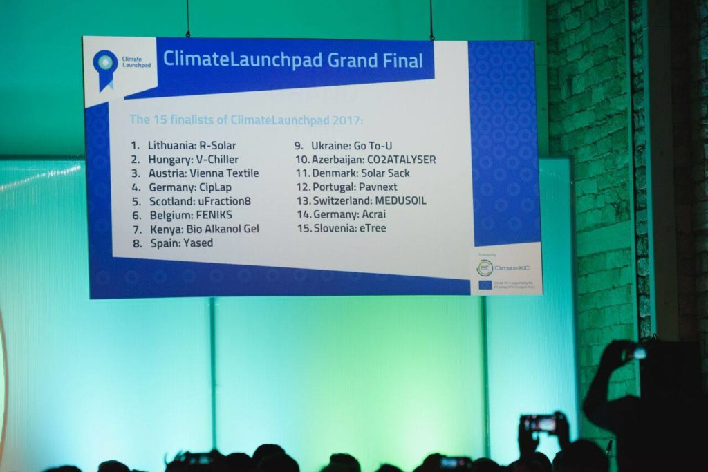 Sil. Startup – Top 15 @ ClimateLaunchpad Grand Final (Cyprus)
