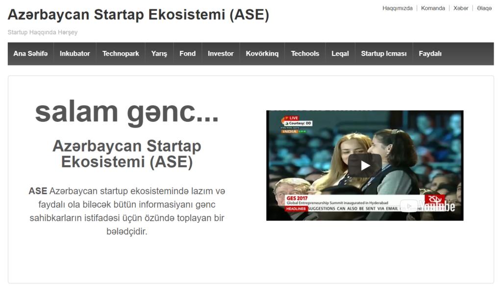 Launch: StartupAzerbaijan.az (Online Directory)